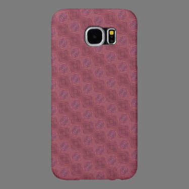 red abstract pattern samsung galaxy s6 cases