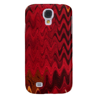 red abstract samsung galaxy s4 cases