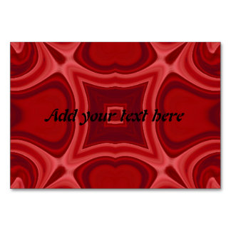 Red abstract wood pattern card