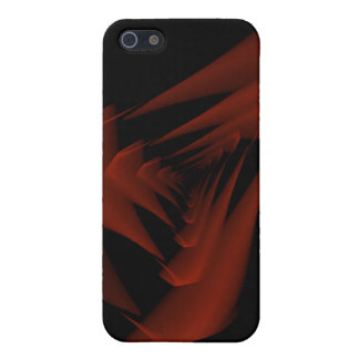 red abstraction case for iPhone 5