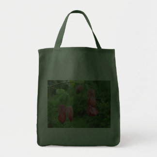 Red Abutilon Flowers Bag