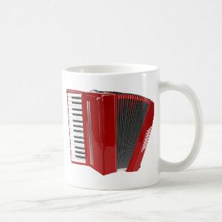 Red Accordion Coffee Mug