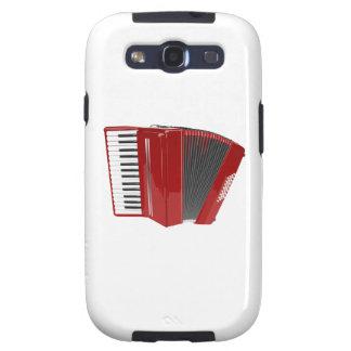 Red Accordion Galaxy S3 Case