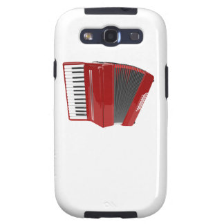 Red Accordion Galaxy S3 Cases