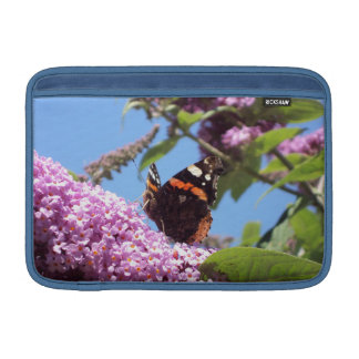 Red Admiral Butterfly 11 Inch MacBook Sleeve
