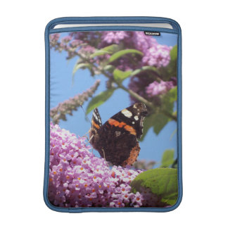 Red Admiral Butterfly 13 Inch Sleeve For MacBook Air