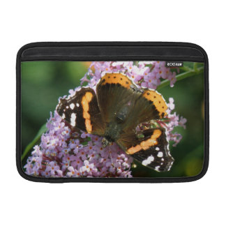 Red Admiral Butterfly and Buddleia Macbook MacBook Air Sleeve