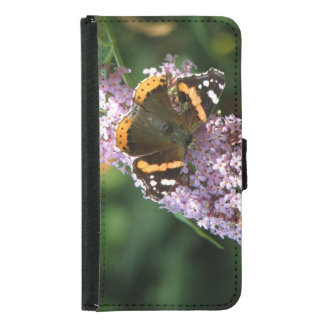 Red Admiral Butterfly and Buddleia Samsung Case