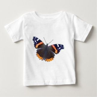 Red Admiral Butterfly Baby T-Shirt