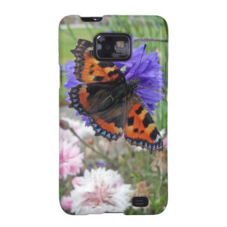 Red Admiral Butterfly Samsung Galaxy S2 Case