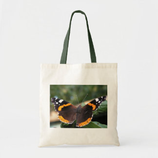 Red Admiral Butterfly Environmental Tote Tote Bag