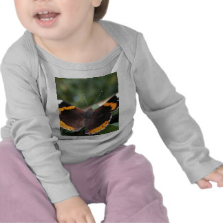 Red Admiral Butterfly Infant Shirt