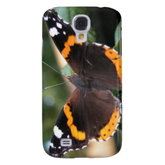 Red Admiral Butterfly iPhone 3G Case Galaxy S4 Case