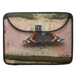 Red Admiral Butterfly MacBook Sleeve