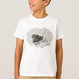 Red Admiral Butterfly on Beach Coordinating Items T-Shirt