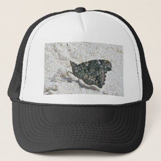 Red Admiral Butterfly on Beach Coordinating Items Trucker Hat