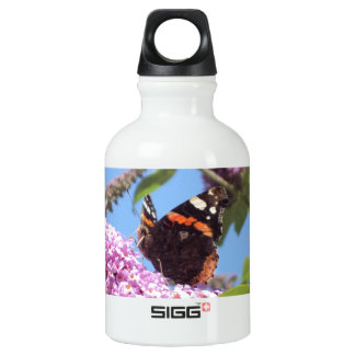 Red Admiral Butterfly On Buddleia SIGG Traveler 0.3L Water Bottle