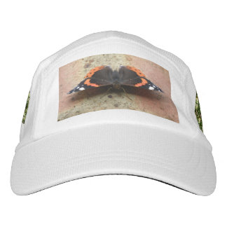 Red Admiral Butterfly Performance Hat