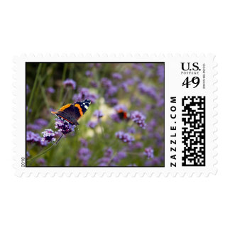 Red Admiral Butterfly Postage