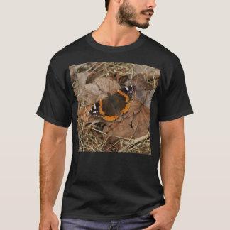 Red Admiral Butterfly Shirt. T-Shirt