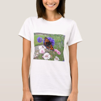 Red Admiral Butterfly T-Shirt