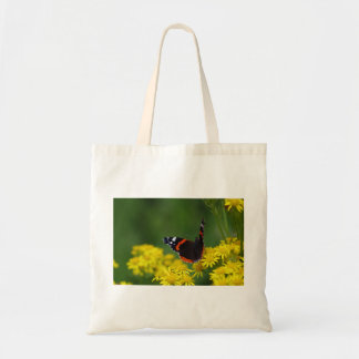Red Admiral Butterfly Tote