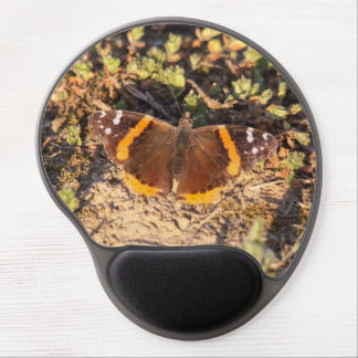 Red Admiral Gel Mouse Pad