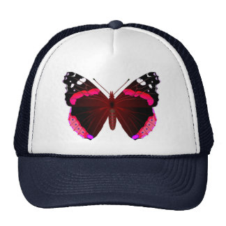 Red admiral mesh hats