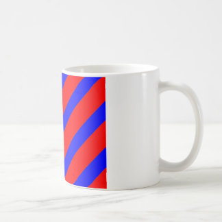 Red adn Blue Stripes Coffee Mug
