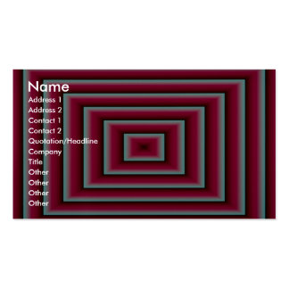 Red air vent Double-Sided standard business cards (Pack of 100)