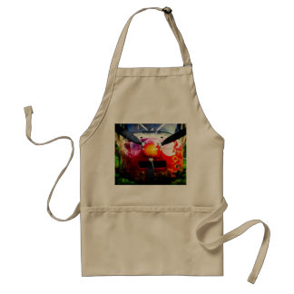 Red Aircraft - Small But Fierce Adult Apron