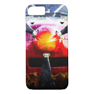 Red Aircraft - Small But Fierce iPhone 7 Case