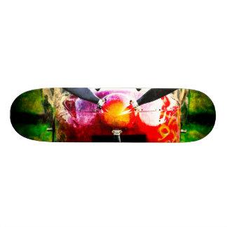 Red Aircraft - Small But Fierce Skateboard Deck