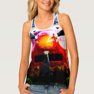 Red Aircraft - Small But Fierce Tank Top