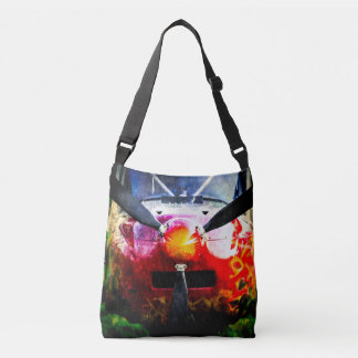 Red Aircraft - Small But Fierce Tote Bag
