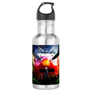 Red Aircraft - Small But Fierce Water Bottle