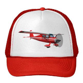 Red Airplane Trucker Hat