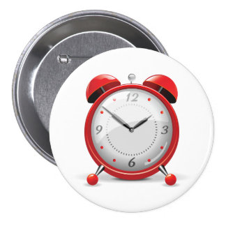 Red Alarm Clock Button