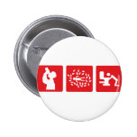 red alcohol picture icon button