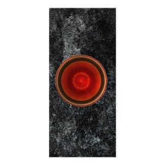 Red alert Bookmark Custom Rack Cards