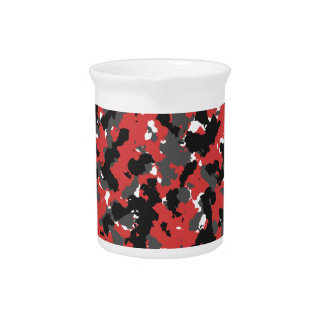 Red Alert Camo Drink Pitcher