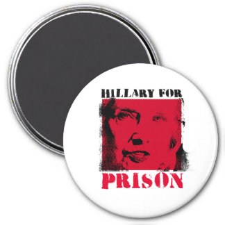 Red Alert - Hillary for Prison - - Anti-Hillary -. Magnet