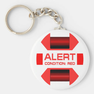 Red Alert! Keychain