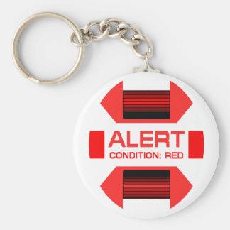 Red Alert! Key Chain