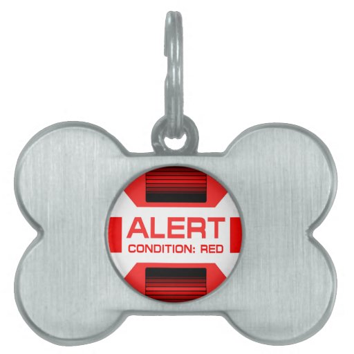 Red Alert! Pet ID Tags