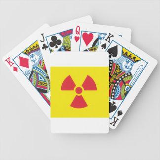 RED ALERT RADIATION WARNING! CARD DECKS