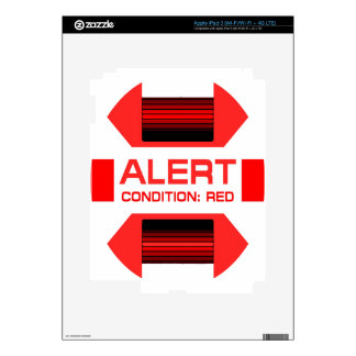 Red Alert! Skins For iPad 3
