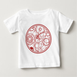 Red Alien Design Baby T-Shirt