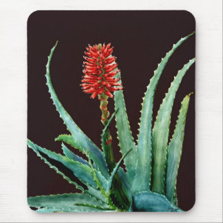 Red Aloe Mouse Pad