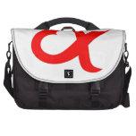 Red alpheart commuter bags